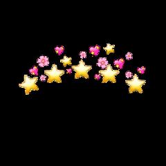 freetoedit star emoji emojicrown sad