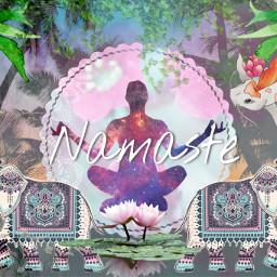 freetoedit namaste yogalove