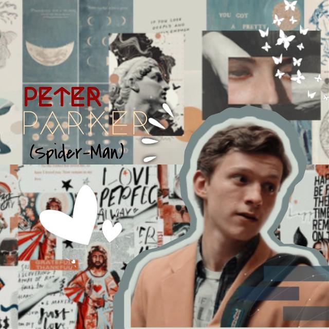 ✨✨   #peterparker #spider-man #marvel #mcu #tomholland #iconedit #aesthetic #myedit