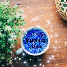 freetoedit summer galaxy glitter
