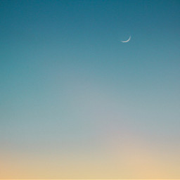 sky moon background backgrounds freetoedit