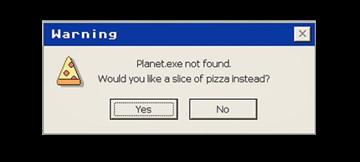 reminder computer warning retro freetoedit