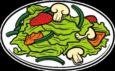 plate food vegetables salad mushrooms freetoedit