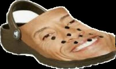dwaynejohnson dwaynetherockjohnson crocs memes rock freetoedit