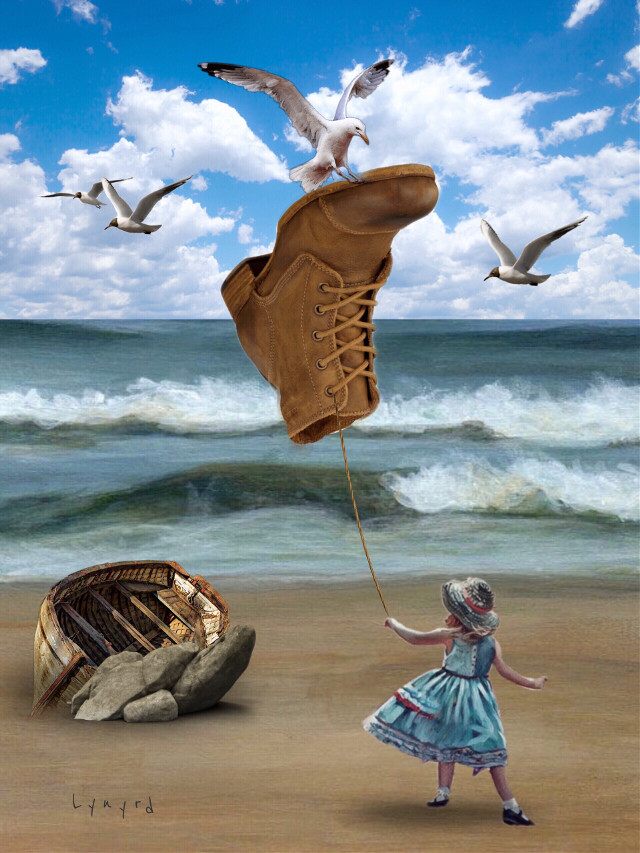 #freetoedit #shoe #floating #myedit #artistic #art #awesome #surrealism #madewithpicsart #awesomestickers