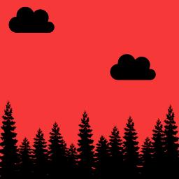 red bts stikers: bts
