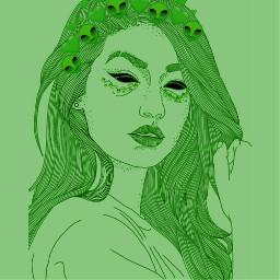 alien greenalien freetoedit srcalienroyalty alienroyalty