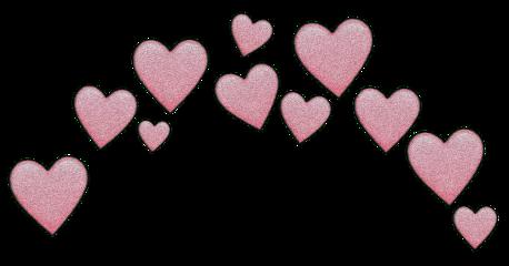 heart pinkheart dream 80 crownheart freetoedit