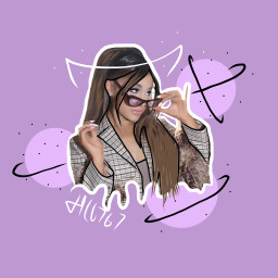 arianagrande outline aesthetic