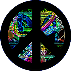 scpeacestickers peacestickers peavesign neon blacklight freetoedit
