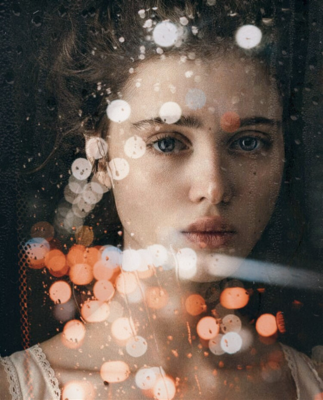 #freetoedit #doubleexposure  #rain #window #light