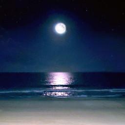 moon virginiabeach nightphotography freetoedit