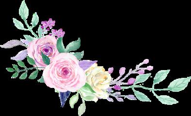 watercolor floral flowers bouquet arrangement freetoedit