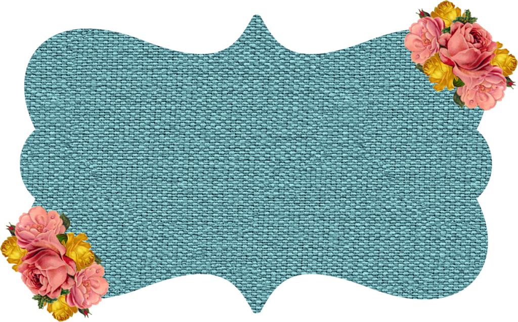 #tag #label #badge #textbox #blue #burlap #floral #flowers #png