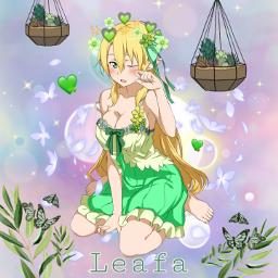 freetoedit sao swordartonline leafa