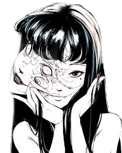 #goth#grunge#junjiito#aesthetic#manga#edit #freetoedit