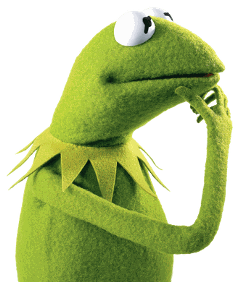 kermit frog kermitthefrog meme think freetoedit