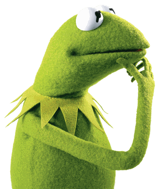 #kermit #frog #kermitthefrog #meme #think #thought