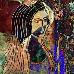 freetoedit eyeswideopen colorful layers peaceful