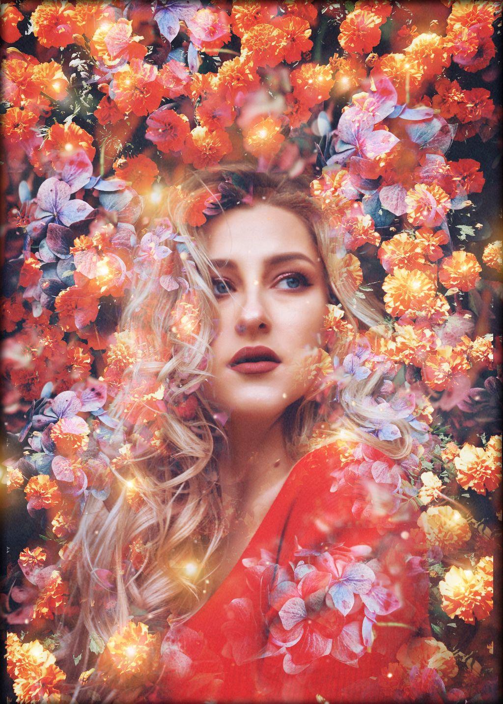 🌸🌸 #freetoedit #doubleexposure #floweredit #unsplash