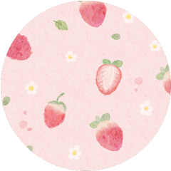 stawberry pink flower background cute freetoedit