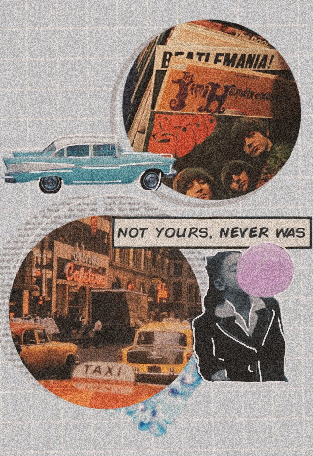 #freetoedit #vintage #old #retro #80s #90s #70s #newyorkcity #taxi #street #downtown #car #oldcar #thebeatles #album #music #girl #bubble #aesthetic  #bubblegum