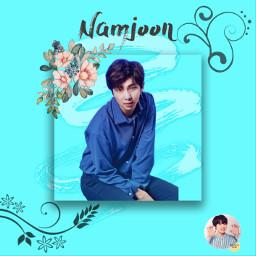 kimnamjoon namjoon rapmonster rapmon bestleaderever freetoedit