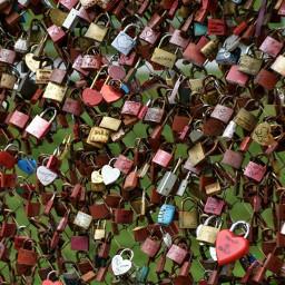 locks bridge locksoflove autumn