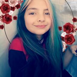 selfie rose freetoedit