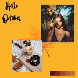 freetoedit october autumn autum girl