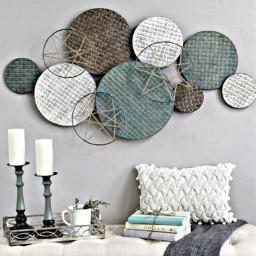 freetoedit bed bedroom wallart circles
