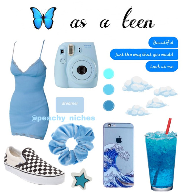 """🦋𝕔𝕝𝕚𝕔𝕜🦋  -46th post -312 followers 🥳 -please don't repost. -do you like this series? comment more ideas!  recommendd by: @danielaalxndr   go check out her account and like her posts! she deserves so much more! 🤩  time: 10:55 am mood: 😐  qotd: do you like butterflies? aotd: 𝕪𝕖𝕤! 𝕞𝕪 𝕗𝕒𝕞𝕚𝕝𝕪 𝕒𝕔𝕥𝕦𝕒𝕝𝕝𝕪 𝕣𝕒𝕚𝕤𝕖𝕤 𝕞𝕠𝕟𝕒𝕣𝕔𝕙 𝕓𝕦𝕥𝕥𝕖𝕣𝕗𝕝𝕚𝕖𝕤 𝕒𝕟𝕕 𝕣𝕖𝕝𝕖𝕒𝕤𝕖𝕤 𝕥𝕙𝕖𝕞 𝕚𝕟 𝕠𝕦𝕣 𝕪𝕒𝕣𝕕. 𝕥𝕙𝕚𝕤 𝕪𝕖𝕒𝕣 𝕨𝕖 𝕣𝕒𝕚𝕤𝕖𝕕 𝕒𝕓𝕠𝕦𝕥 180. 😇🦋💞✨  quote of the day: """"I saw the world in black and white, instead of the colors that i knew existed.""""-Katie McGarry  tags: #niche #nichememe #basic #tumblr #vsco #art #cute #blue #emoji #butterfly #dress #clouds #soft #vans #babyblue #scrunchie  stickers from: #freetoedit"""