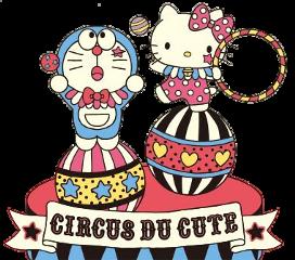 hellokitty doraemon circus freetoedit
