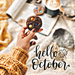 hellooctober halloween2019 cookies pumpkinspicelatte fall freetoedit