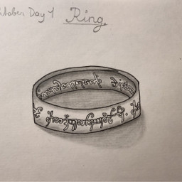 inktober inktober2019 ring lotr lordoftherings