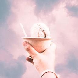 freetoedit icecream sky