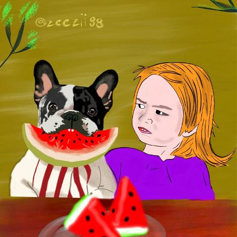 #freetoedit,#zeezii88,#caricatura,#dibujo,#frutas,#dcmyfavfruit
