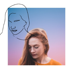 replay remixreplay portrait background sketch freetoedit