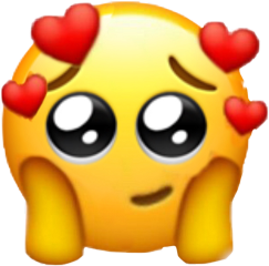 freetoedit emoji cute heartemoji cryingemoji
