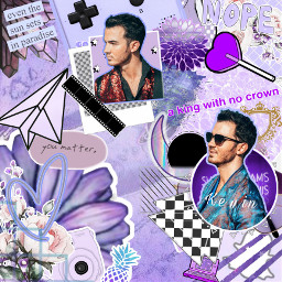 kevinjonas jonasbrothers happinessbegins complexedit purple freetoedit