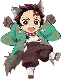 kny kimetsunoyaiba demonslayer tanjiro furry freetoedit