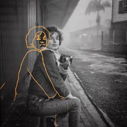 sketch sketcheffect blackandwhite mask masks freetoedit