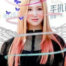 rose blackpink thequeen freetoedit