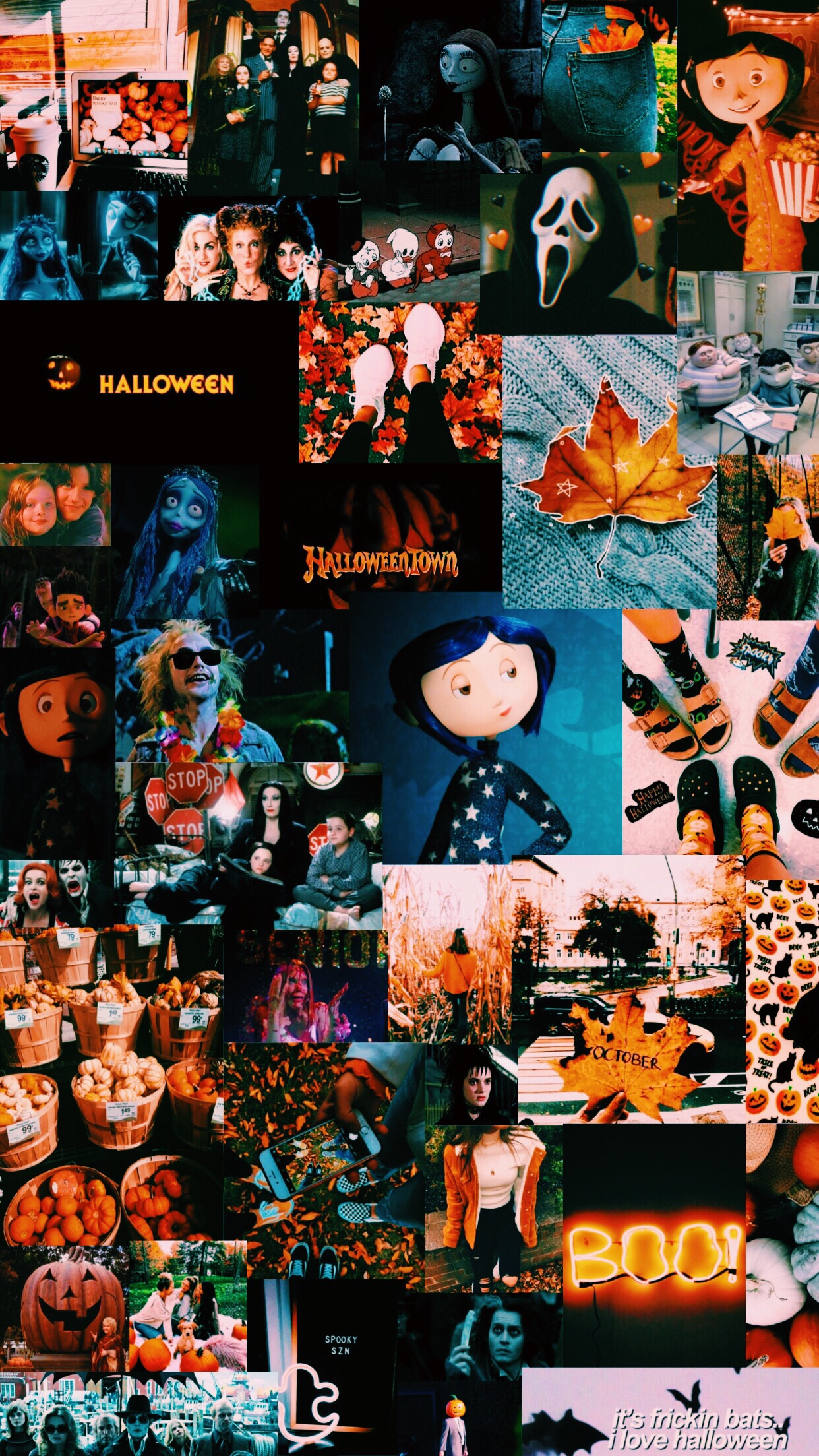 25+ Best Halloween Collage Wallpaper