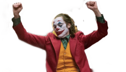 joker joaquinphoenix dancing batman freetoedit