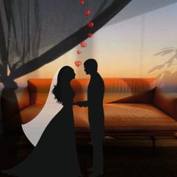 freetoedit sposi love divano amore
