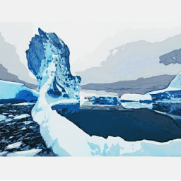freetoedit snow antartica awsome
