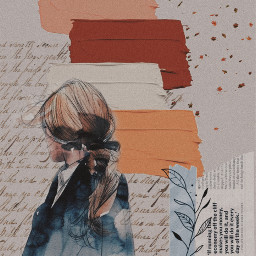 aesthetic collageart scrapbook scrapbooking brushstroke freetoedit