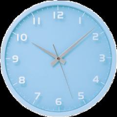 clock blue numbers niche nichememe freetoedit
