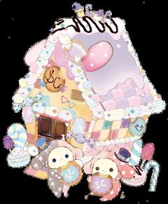 circus rabbit candyhouse cute freetoedit